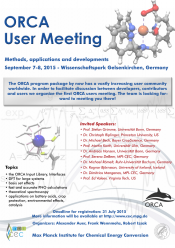 ORCA User Meeting