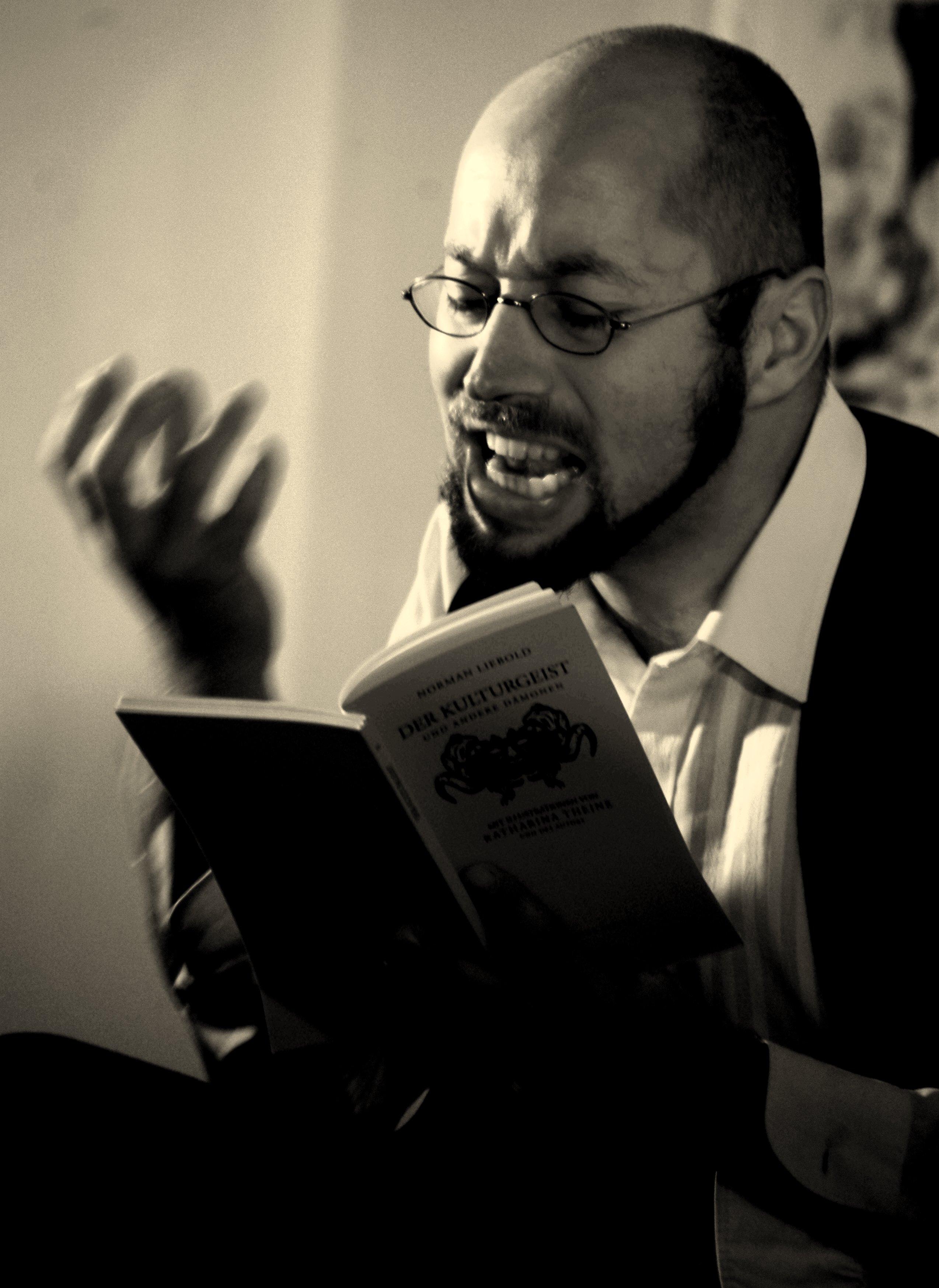 Norman Liebold liest und performt: Kölner Stories