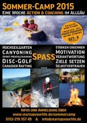Sommer-Camp für ALLE von 14 bis 17 Jahren