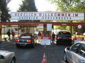 Automarkt / Gebrauchtwagenmarkt im Autokino Gravenbruch