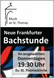 Neue Frankfurter Bachstunde: Die wohltemporierte Orgel