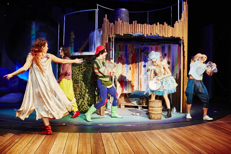 Peter Pan In Wuppertal Am 16122015 Theater Am Engelsgarten