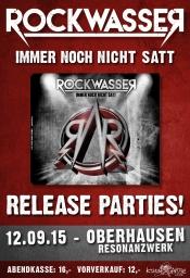 "Rockwasser ""immer noch nicht satt"" CD Releaseparty"