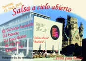 Salsa a cielo abierto @Schöne Aussicht