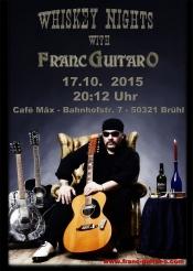Whiskey Nights With Franc-guitar-o Im Cafe Mäx In Brühl