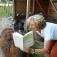 Sommer-Erlebnis-Lesung im Lama-Gehege