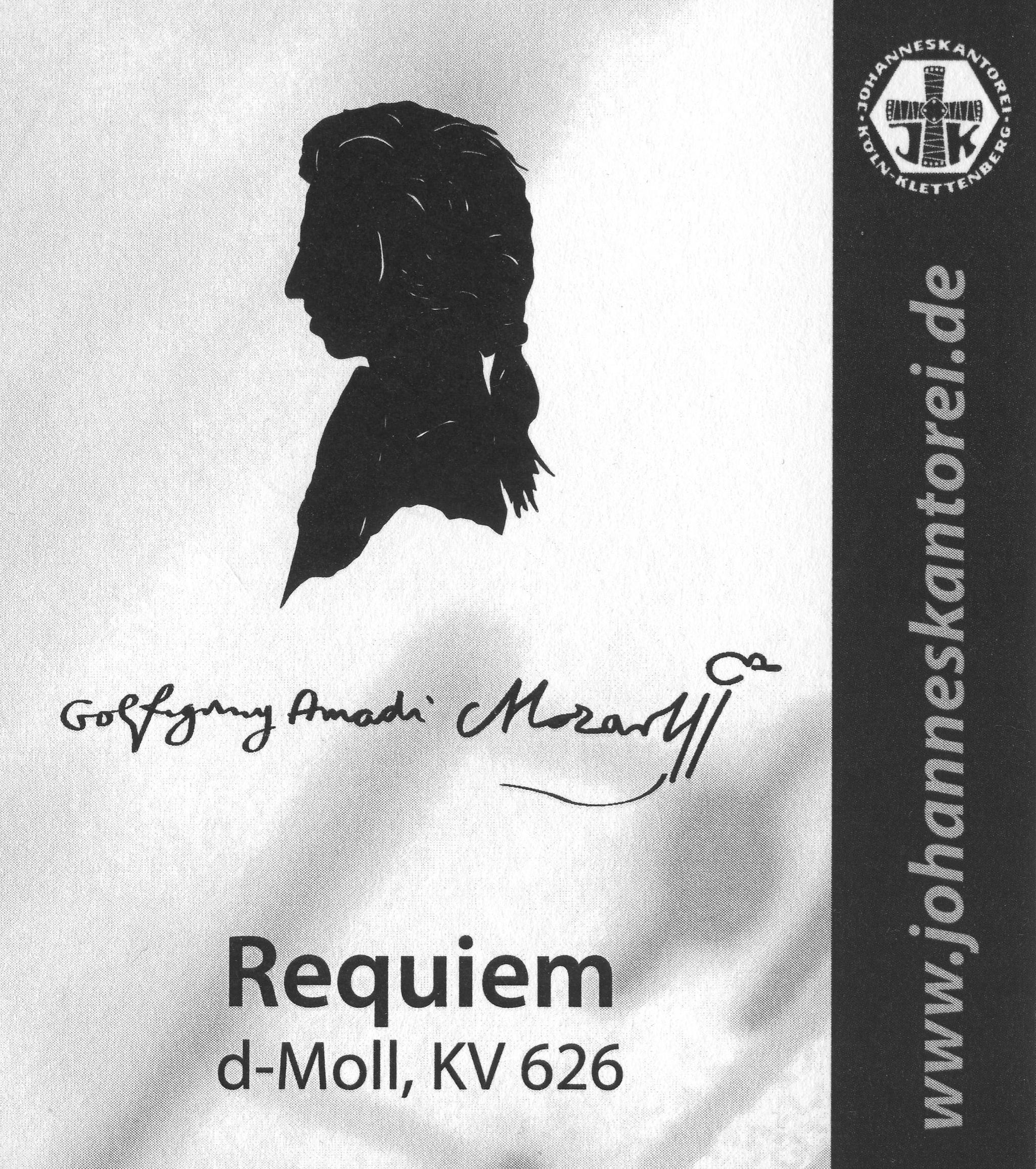 Requiem, d-Moll, KV 626, Wolfgang Amadeus Mozart