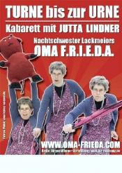 "Kabarett  Oma F.r.i.e.d.a  ""Turne Bis Zur Urne""  Mit Jutta Lindner"