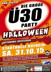 Die große Ü30 Halloween Party