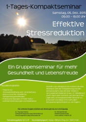 1-Tages-Kompaktseminar  Effektive Stressreduktion