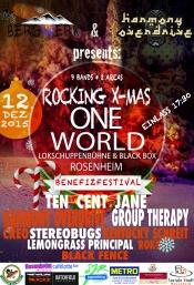 Rocking X-mas - One World - Benefizfestival