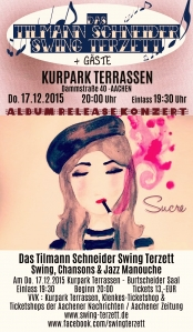 Das Tilmann Schneider Swing Terzett  Album-Release-Konzert In Aachen
