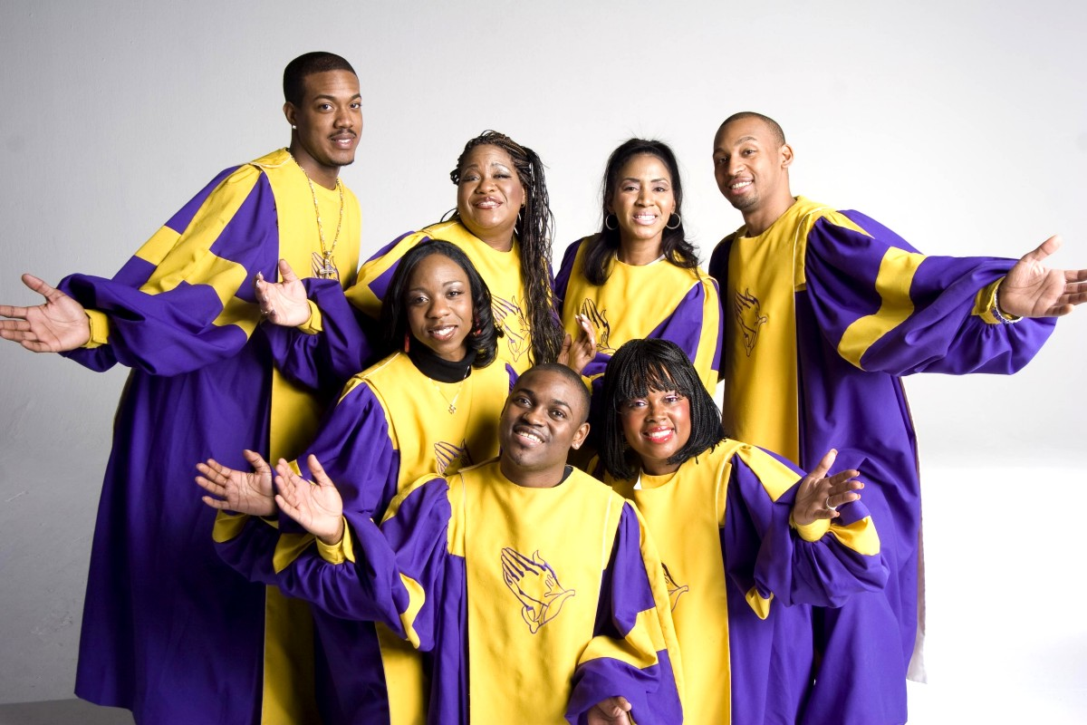 Group of gospel singers