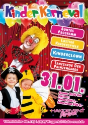 Kinderkarneval mit tollem Programm