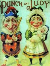 Mr. Punch und Mrs. Judy