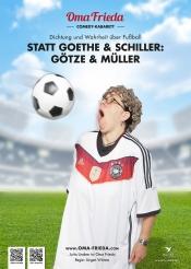 """Fußball-Kabarett """"Statt Goethe und Schiller : Götze und Müller"""""""