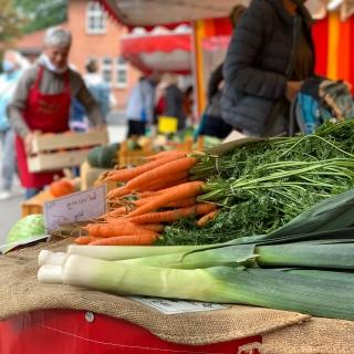 Wochenmarkt in Alsterdorf