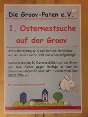 1. Groov Paten e.V. Osternestsuche an der Groov