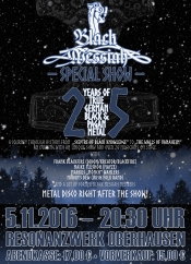 Black Messiah 25 Jahre Jubiläumskonzert