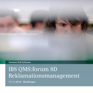 Ibs Qms:forum 8d Reklamationsmanagement Nördlingen 17 11