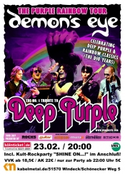 Demon´s Eye- No. 1 Deep Purple Tribute Band
