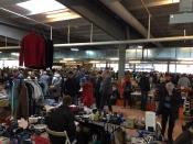 Flohmarkt in der Elbmarschenhalle Horst