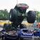 Stunt- und Monster-Truck-Show