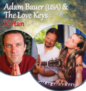 Bhakti Yoga Workshop & Mantra Konzert Mit Adam Bauer (USA) & The Love Keys In Hamburg