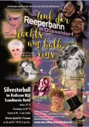 Silvester Gala 2016 17  Feuerwerk Der Travestie Im Ballsaal Des Radissonblu Düsseldorf