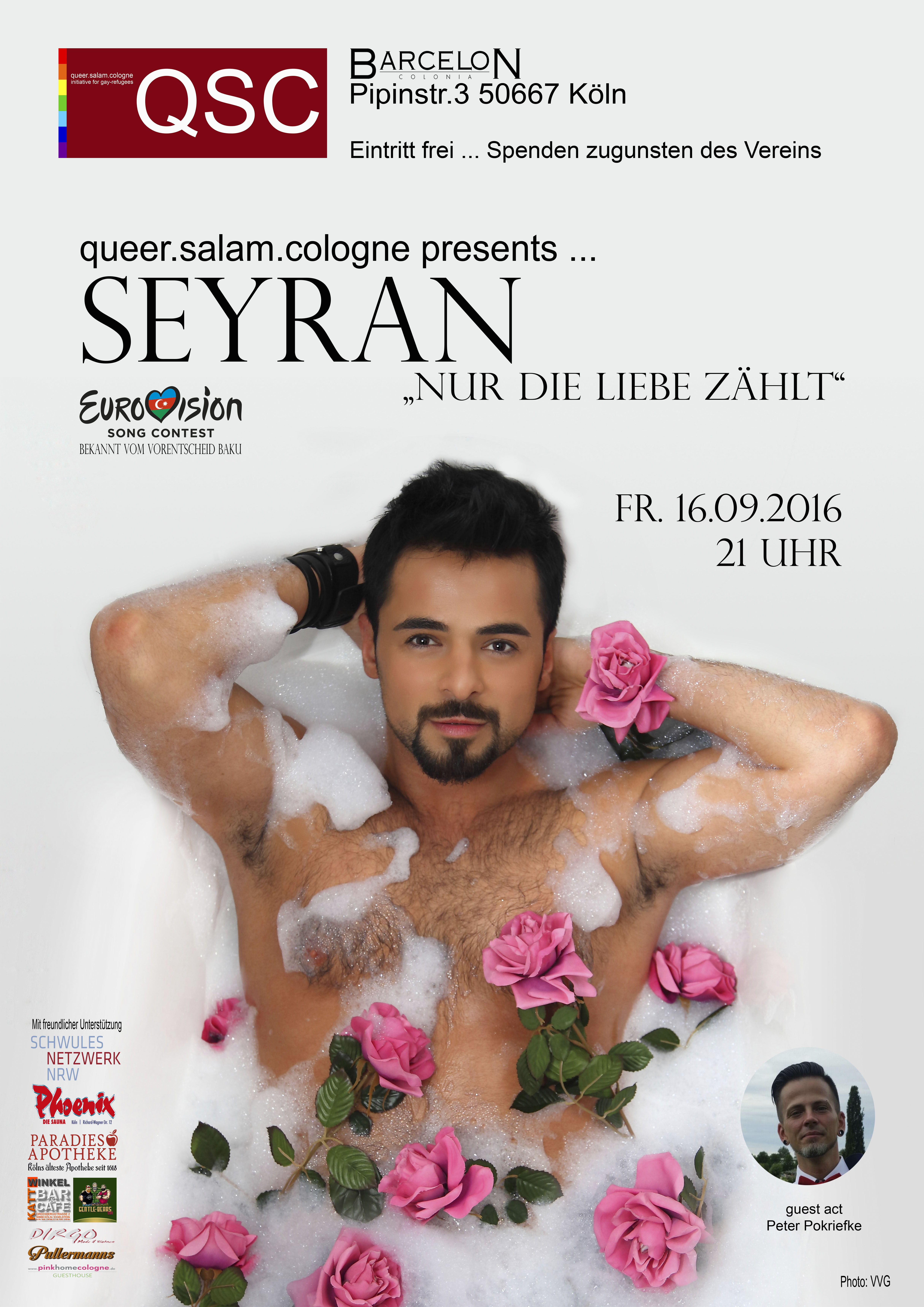 queer.salam presents...Seyran Ismayilkhanov