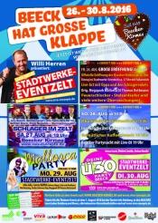 Beecker Kirmes Stadtwerke-eventzelt
