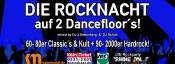 Rockparty auf 2 Dancefloor´s!