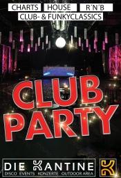 club party in k ln am die kantine. Black Bedroom Furniture Sets. Home Design Ideas