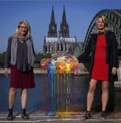 Rheinpalette: Nika Bertram und Kerstin Graf