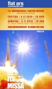 "Jubiläumskonzert ""fiat ars"""