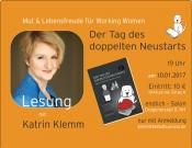 Der Tag des doppelten Neustarts - Lesung mit Katrin Klemm