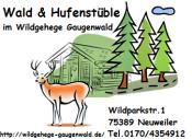 Weihnachten im Wildgehege Gaugenwald