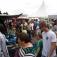 Kram- und Trödelmarkt zum Hafenfest in Timmel/Großefehn im Hafen