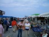 Strandfest Dornumersiel im Hafen