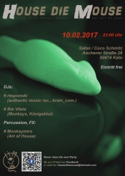 House die Mouse - Party 10.02.2017
