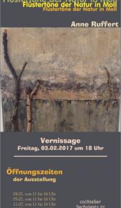Kunstausstellung: Flüstertöne der Natur in Moll- Anne Ruffert