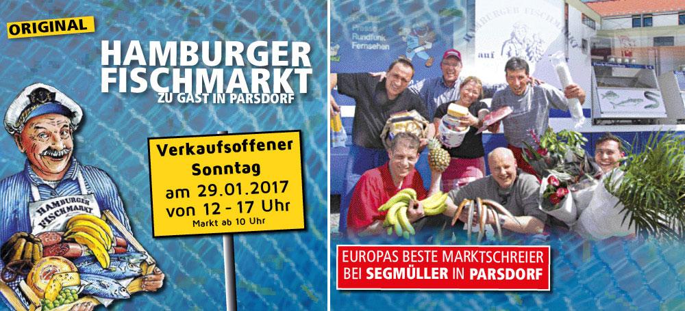 Hamburger Fischmarkt Bei Segmüller In Parsdorf In Vaterstetten Am
