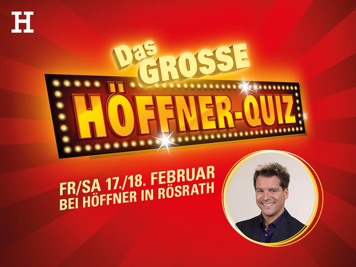 Das Grosse Hoffner Quiz In Rosrath Am 18 02 2017 Mobel Hoffner