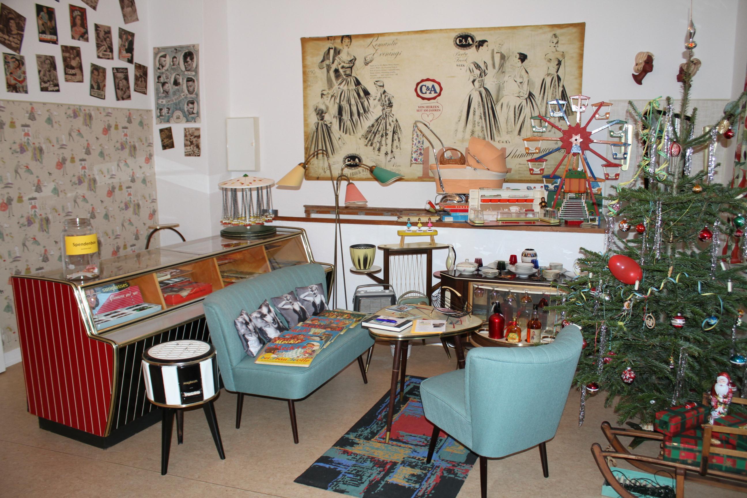 liebevolle authentische Ausstellung über die 50er Jahre in Hamburg ...