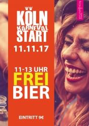 11.11. Köln Karneval Start