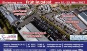 Einladung zum Frühlingsfest (Wohnmobile und Wohnwagen)