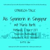 Spanisch-Talk in der Mayerschen Buchhandlung Düsseldorf