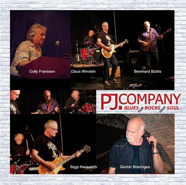 PJ Company - Blues thar Rocks your Soul im Meerbuscher Kanapee