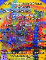"""Eröffnungsausstellung Der Artraum-mosimo Galerie """"Die Sprache Der Kunst"""""""