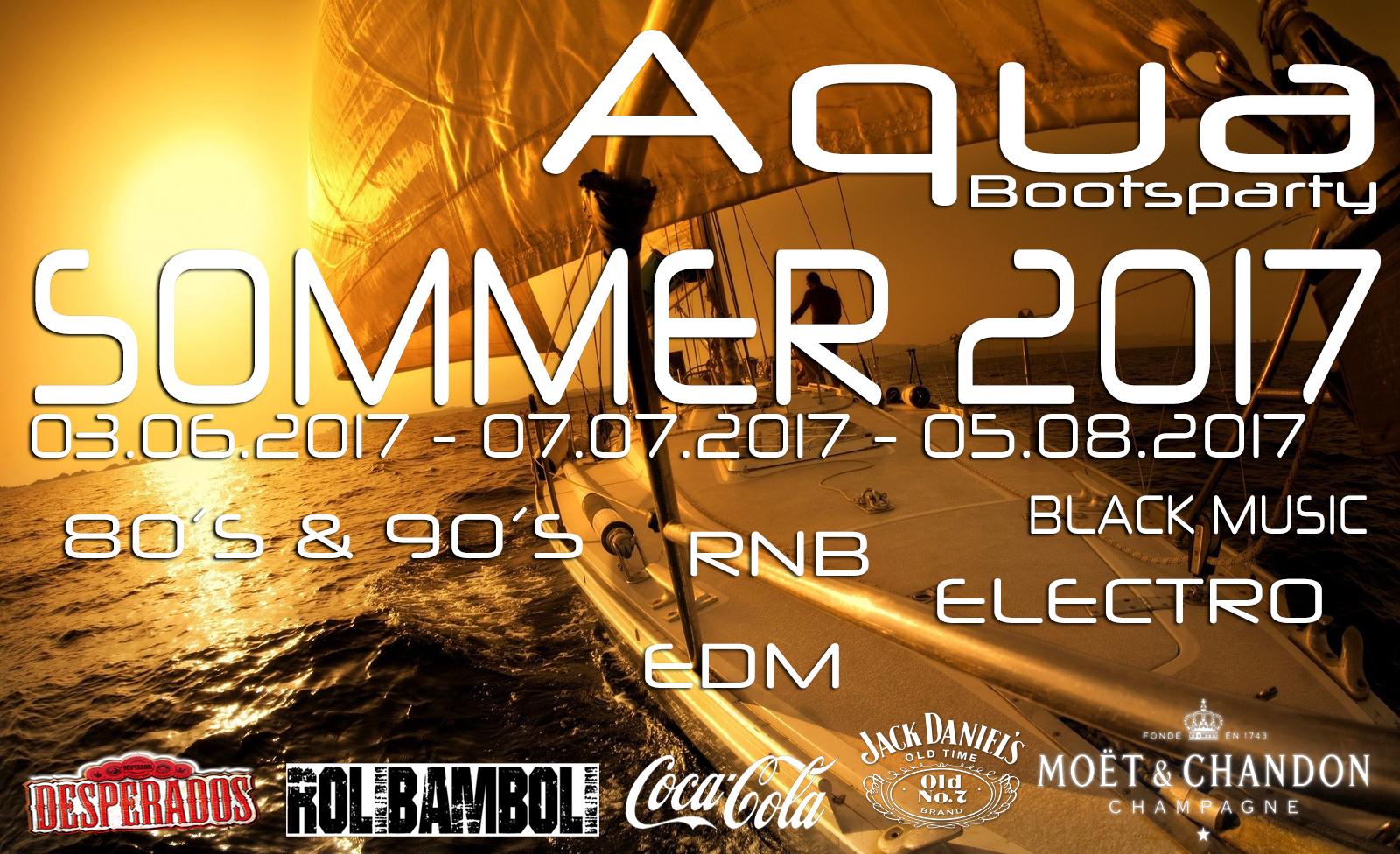 AQUA Bootsparty Berlin 07.07.2017